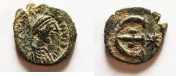 Ancient Coins - Justinian I 527-565 A.D. Pentanummium Constantinople