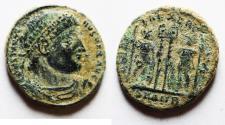 Ancient Coins - CONSTANTINE I AE 3 . ORIGINAL DESERT PATINA