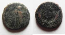 Ancient Coins - Phoenicia. Ake-Ptolemais. Pseudo-autonomous issue under Nero (AD 54-68). AE 15
