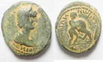 Ancient Coins - Decapolis. Abila. Caracalla. AD 198-217. Æ 26