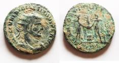 Ancient Coins - ORIGINAL DESERT PATINA: DIOCLETIANUS AE ANTONINIANUS