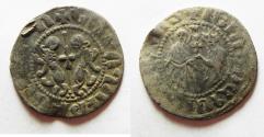 World Coins - ARMENIA, Cilician Armenia. Royal. Levon I. 1198-1219. AR Tram .  Coronation issue.