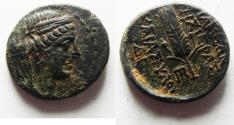 Ancient Coins - Syria, Seleucis and Pieria. Apamea. AE 17mm, 3.46g. Struck in Pompeian Era year 5 (60/59 BC).