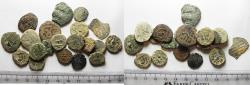 Ancient Coins - LOT OF 20 ANCIENT BRONZE ISLAMIC COINS. SOME SILVER