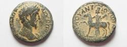 Ancient Coins - Decapolis. Antiochia ad Hippum under Marcus Aurelius (AD 161-180). AE 23mm