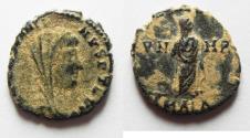 Ancient Coins - CONSTANTINE I AE 4 . POSTHUMOUS ISSUE. ALEXANDRIA