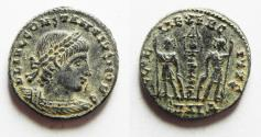 Ancient Coins - BEAUTIFUL CONSTANTINE II AE 4