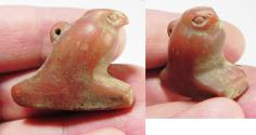 Ancient Coins - ANCIENT EGYPT, NEW KINGDOM. HUGE CARNELIAN HORUS. 1400 B.C