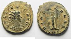 Ancient Coins - BEAUTIFUL AS FOUND GALLIENUS ANTONINIANUS