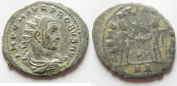 Ancient Coins - PROBUS SILVERED ANTONINIANUS