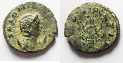 Ancient Coins - AS FOUND SALONINA ANTONINIANUS
