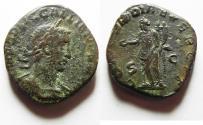 Ancient Coins - Gallienus, 253-268 AD. AE Sestertius, Scarce