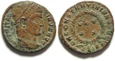 Ancient Coins - BEAUTIFULL CONSTANTINE I AE  3, NEEDS CLEANING