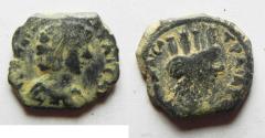 Ancient Coins - DECAPOLIS. BOSTRA. Marcus Aurelius AE16