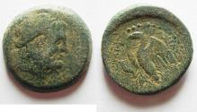 Ancient Coins - GREEK. Egypt. Ptolemaic kings. Ptolemy II Philadelphos (285-246 BC). AE 23mm, 9.26g. Sidon mint.
