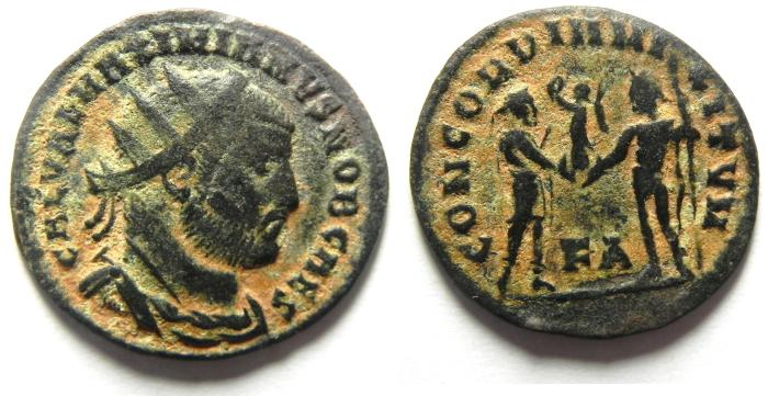 Ancient Coins - MAXIMIAN ANTONINIANUS , VERY ATTRACTIVE