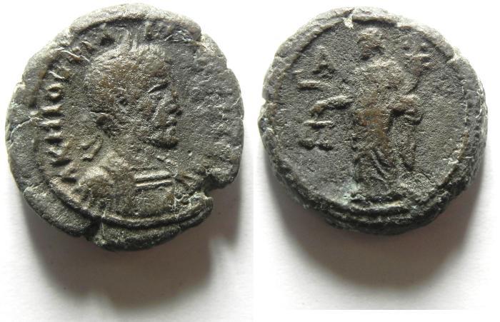 Ancient Coins - Philip I. AD 244-249, EGYPT, Alexandria Billon Tetradrachm