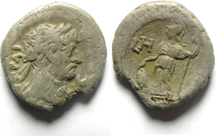 Ancient Coins - EGYPT.ALEXANDRIA.Trajan AD 98-117.Billon Tetradrachm.