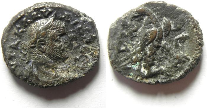 Ancient Coins - EGYPT , ALEXANDRIA , CLAUDIUS II POTIN TETRADRACHM