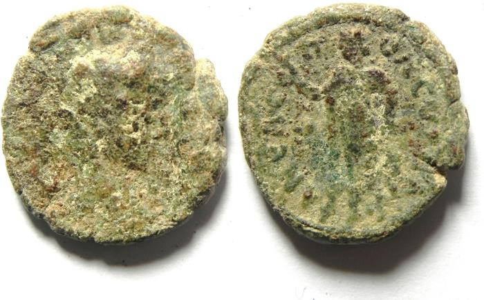 Ancient Coins - PROVINCIAL CITY COIN FROM JORDAN OR DECAPOLIS, AS FOUND , PHELADILPHIA??