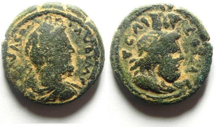 Ancient Coins - JUDAEA, Aelia Capitolina (Jerusalem). Commodus, AD 177-192, Æ 25mm