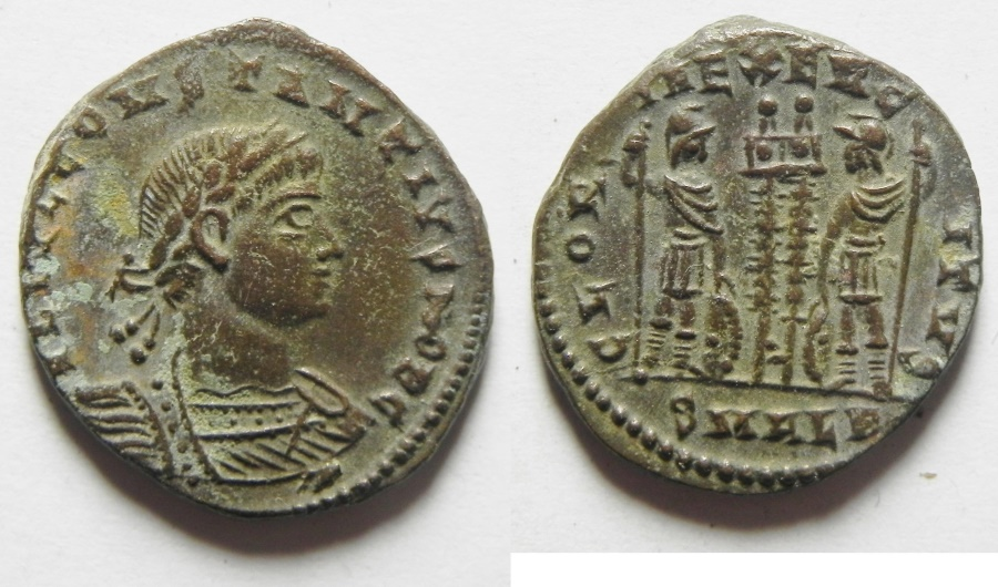 Ancient Coins - CONSTANTIUS II AE 3 , ALEXANDRIA MINT
