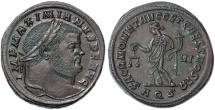 Ancient Coins - Maximianus AE Follis, SUPERB EF, First Reign Circa. 302/303 C.E.