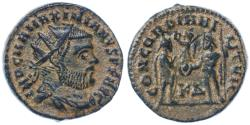 Ancient Coins - Maximianus AE Follis, Extremely Fine (heavyweight), Cyzicus Mint, see notes, 295 - 299 C.E.