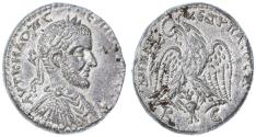 Ancient Coins - Macrinus AR Tetradrachm, Beroea, Cyrrhestica, SUPERB EF, 217/218 C.E.