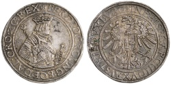 World Coins - Austria, Holy Roman Empire, Ferdinand I AR Taler, VF+ toned, 1521 - 1564