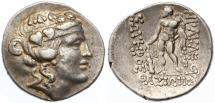Thasos, Islands of Thrace AR Tetradrachm, Very Fine, 1st Century B.C.E.