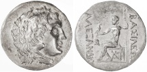 Ancient Coins - Alexander the Great AR Tetradrachm, Extremely Fine, Mesembria Mint, 125 - 65 B.C.E.