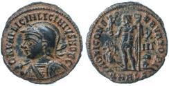 Ancient Coins - Licinius II Caesar AE Follis, Choice Extremely Fine, Alexandria Mint, 317 - 324 C.E.