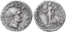 Ancient Coins - Otho AR Denarius, Very Fine, Very RARE, see notes, 69 C.E.