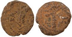 Ancient Coins - Marcus Ambibulus Prefect under Augustus AE Prutah, 10/11 C.E.