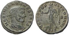 Ancient Coins - Maximianus AE Follis, Near EF, Siscia Mint, Circa. 295 C.E.
