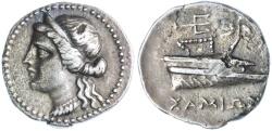 Ancient Coins - Samos, Islands of Ionia AR Tetrobol, VERY RARE, VF, 270 - 240 B.C.E.