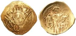 Ancient Coins - Andronicus II Palaeologus with Andronicus III AV Hyperpyron, Very Fine, 1282 - 1328 C.E.