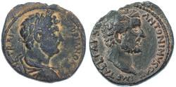 Ancient Coins - Aelia Capitolina, Hadrian & Antoninus Pius AE, SCARCE VF/EF, Circa. 138 C.E.