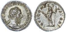 Ancient Coins - Macrinus AR Denarius, Fine Style, SUPERB Extremely Fine, 217/218 C.E.