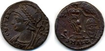 Ancient Coins - Constantie I the Great Commemorative AE, A EF, struck 330 - 346 B.C.E.