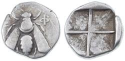 Ancient Coins - Ephesos, Ionia AR Drachm, Good Fine, 350 - 325 B.C.E.