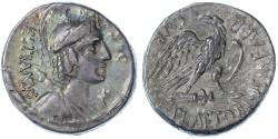 Ancient Coins - M. Plaetorius M.f. Cestianus AR Denarius, VF+, 67 B.C.E.