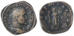 Ancient Coins - Maximinus I Thrax AE Sestertius, Weighty AVF, 236/237 C.E.