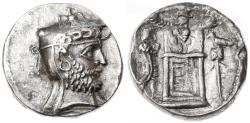 Ancient Coins - Autophradrates II (Vadfradad) AR Tetradrachm, Persis, VERY RARE!, Finest Style portrait - see notes,  Early - mid 2nd Century B.C.E.