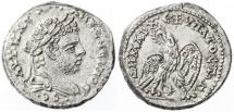 Ancient Coins - Caracalla AR Tetradrachm, Laodicea Ad Mare, Extremely Fine, 212/213 C.E.