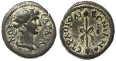 Ancient Coins - Sardis, Lydia AE, GVF/AEF, Time of Trajan 98 - 117 C.E.
