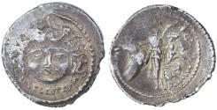 Ancient Coins - L. Plautius Plancus AR Denarius, VF+, 47 B.C.E.