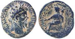Ancient Coins - Petra of the Decapolis, Septimius Severus AE, AEF/GVF, 193 - 211 C.E.