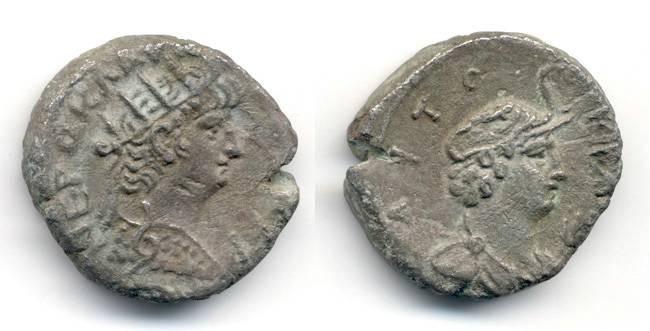 Ancient Coins - Nero Billon Tetradrachm, EF, Alexandria Egypt